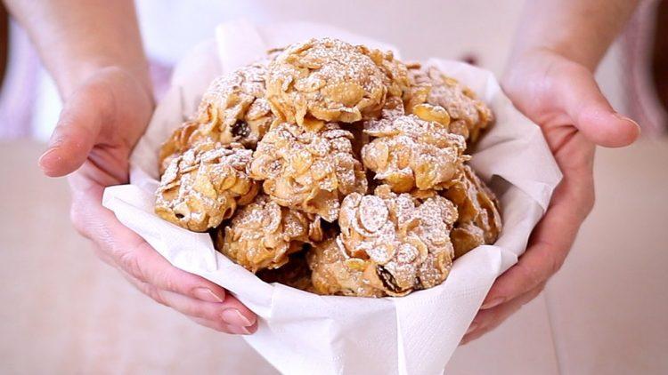 Biscotti-Rose-del-Deserto-ai-Cereali-Ricetta-Facile-Corn-Flake-Cookies-Easy-Recipe-attachment