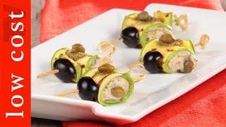 Involtini-di-zucchine-con-tonno-Antipasto-sfizioso-attachment