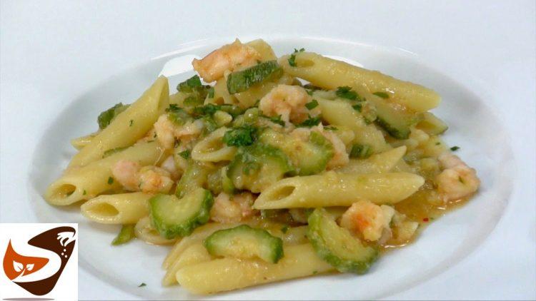 Pasta-zucchine-e-gamberetti-primi-piatti-veloci-zucchini-pasta-and-shrimp-attachment