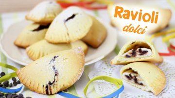 RAVIOLI-DOLCI-CON-RICOTTA-E-GOCCE-DI-CIOCCOLATA-Ricetta-facile-Ricetta-carnevale-Sweet-Ravioli-attachment