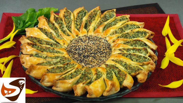 Torta-salata-girasole-con-ricotta-e-spinaci-antipasti-salty-cake-attachment