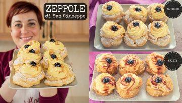 ZEPPOLE-DI-SAN-GIUSEPPE-AL-FORNO-amp-FRITTE-Ricetta-Facile-Pasta-Choux-Fatto-in-Casa-da-Benedetta-attachment