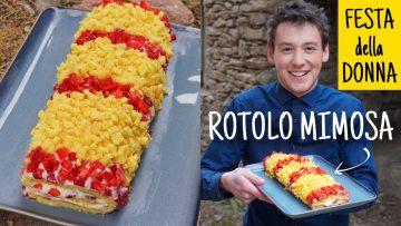 TORTA-MIMOSA-A-ROTOLO-con-le-fragole-RICETTA-FURBA-per-la-Festa-della-Donna-FACILE-E-ORIGINALE-attachment