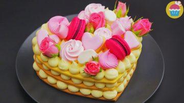 Che-Dolce-Millefoglie-di-Biscotti-a-forma-di-Cuore-Ricette-dolci-attachment