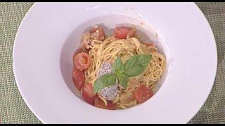 La-prova-del-cuoco-ricette-Cristian-Bertol-saluta-tutti-con-tagliolini-al-pomodoro-ricotta-e-olive-attachment