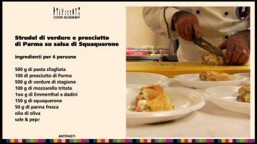 Ricetta-Antipasto-strudel-verdure-e-prosciutto-di-Parma-su-salsa-squaquerone-Cook-Academy-attachment