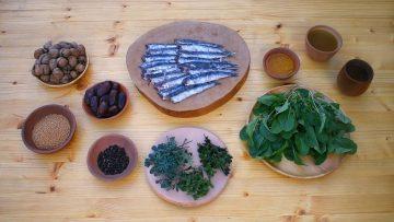 Salted-Fish-with-Arugula-Sauce-Ancient-Roman-Recipe-attachment