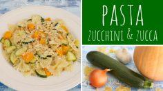 Pasta-con-zucca-e-zucchini-Vegetariana-Ricetta-facile-e-veloce-attachment